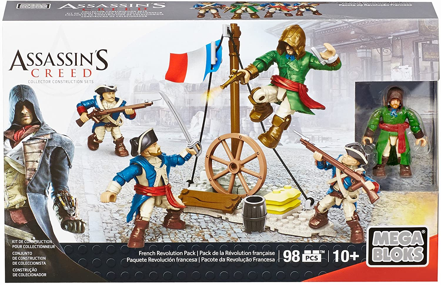 Amazon Com Mega Bloks Assassin S Creed French Revolution Pack