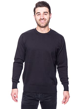 Noble Mount Men's Premium 100% Cotton Crew Neck Sweater at Amazon ...