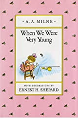 When We Were Very Young (Winnie-the-Pooh) Hardcover