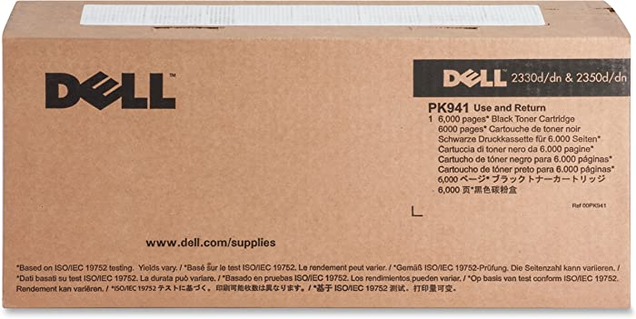 Dell PK941 330-2650 2330 2350 Toner Cartridge (Black) in Retail Packaging