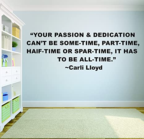 Amazon.com: Design with Vinyl Carli Lloyd Soccer Quote ...