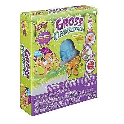 Scientific Explorer Gross Clean Science Kids Science Experiment Kit, Multicolor: Toys & Games