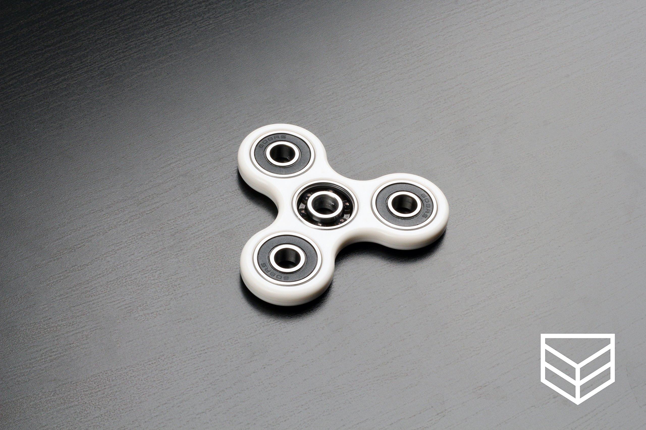 Amazon Com Fidget Spinner Triune Spinner By Pocket Fidget High