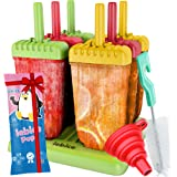 Lebice Popsicles - Premium Set - 9 Pieces - Bpa Free - Tupperware Quality