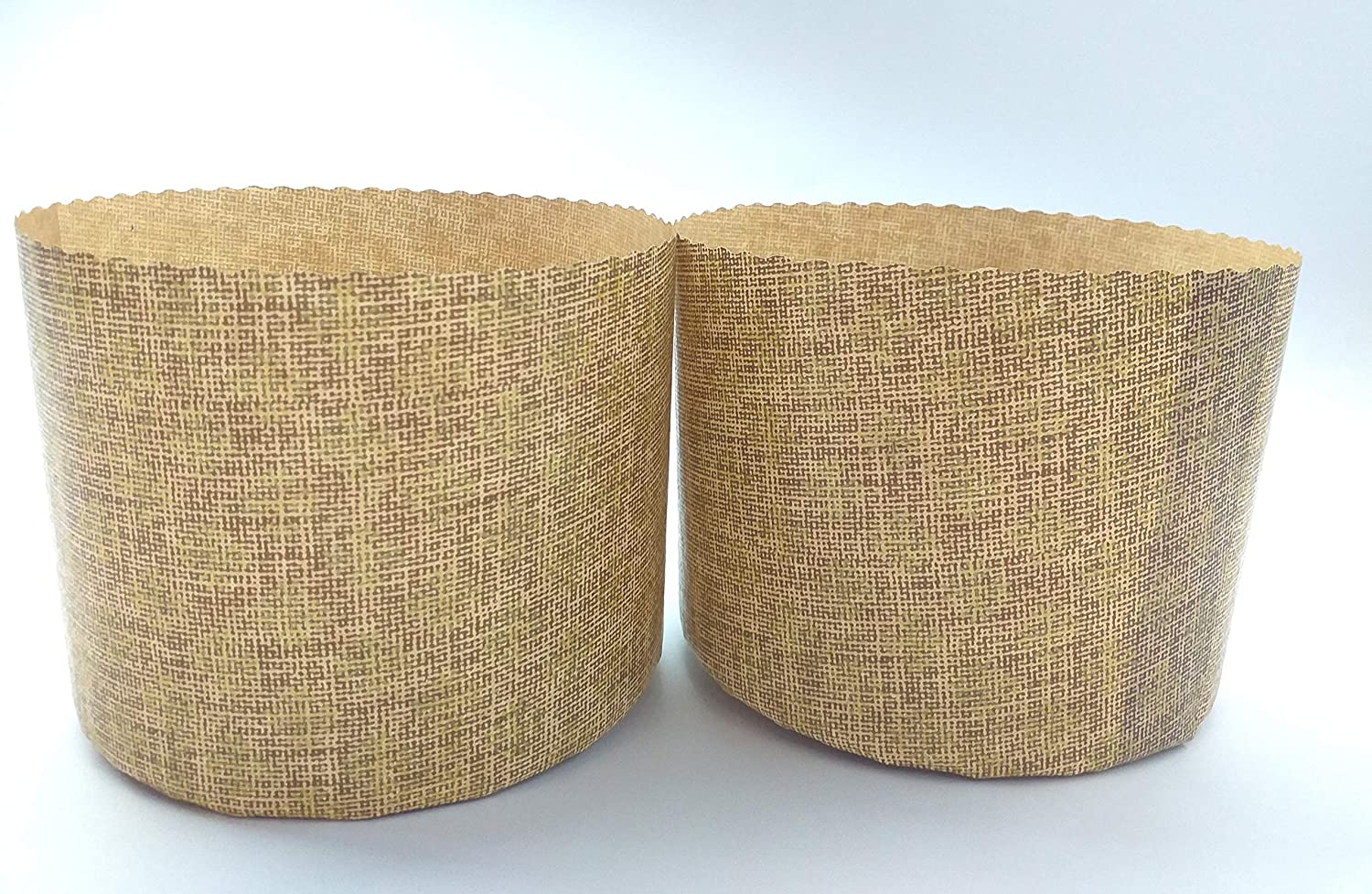 Pack of 25 by SHSH trade group W 3.55 x H 3.55 Inches Panettone Paper Molds Round Non Stick Panettone Mold Baking Cups