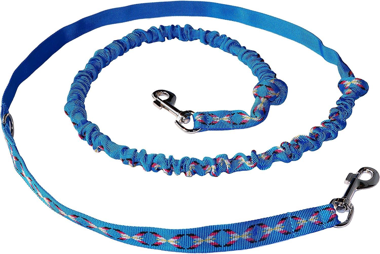 Hunde X-Back Zuggeschirr Bauchgurt in Blau Northern Howl Canicross-Set J/öring- Zugleine mit integr.Ruckd/ämpfer