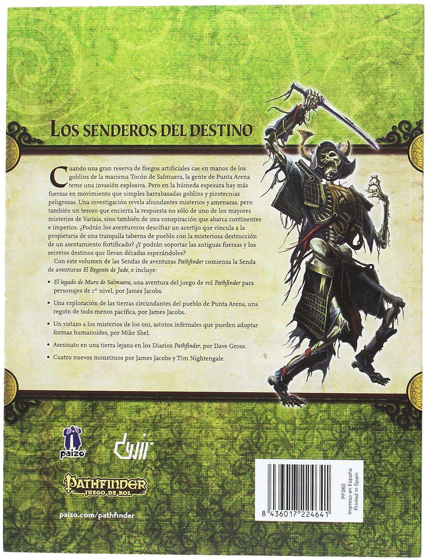 Devir- Pathfinder: el Regente de Jade: el Legado de Muro de Salmuera, Miscelanea (PFREJA1)
