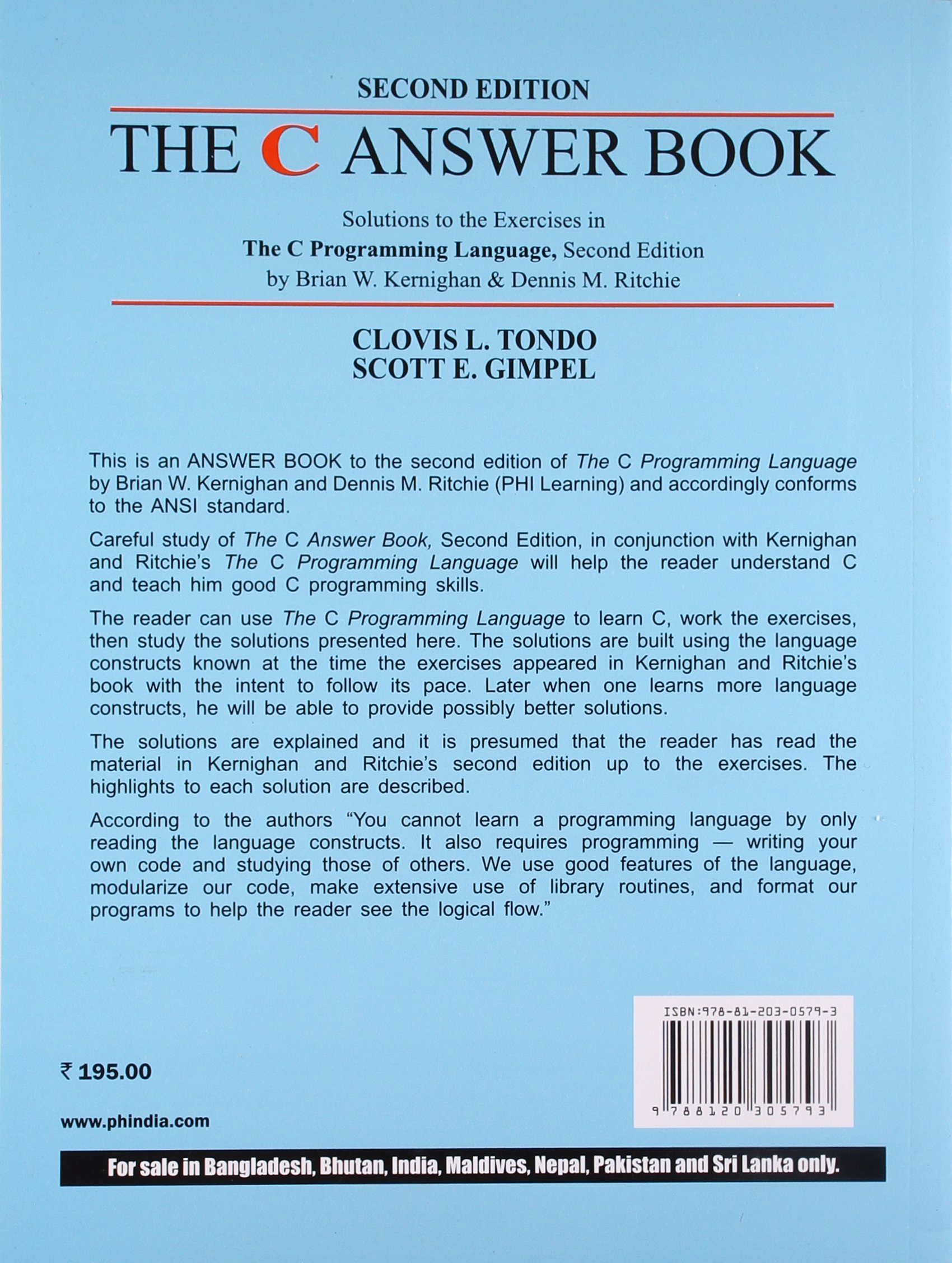 The C Answer Book 2nd Edition Pdf