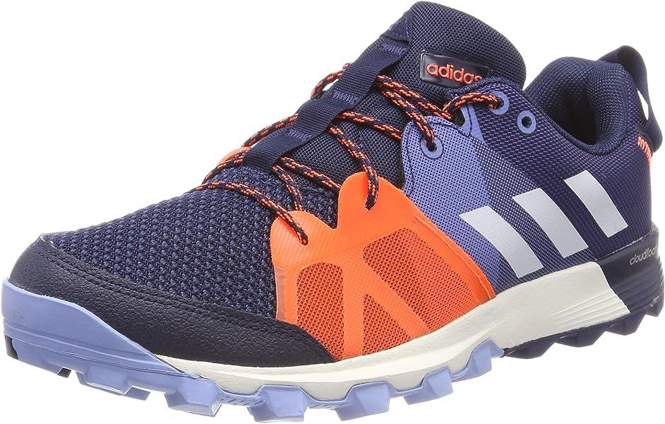 super popular eb953 e7861 adidas Men s s Kanadia 8.1 TR Trail Running Shoes, (Collegiate Navy Off  White