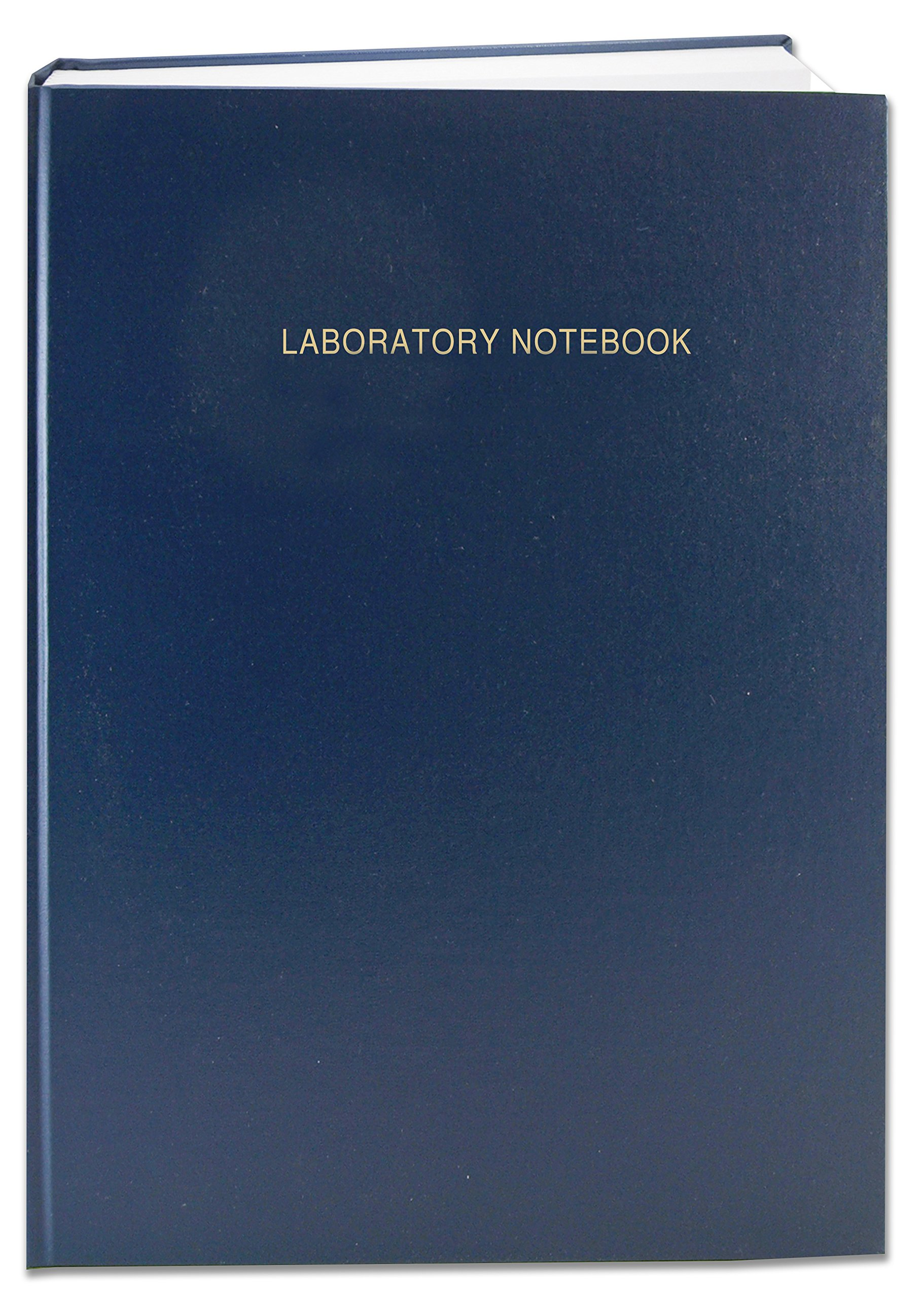 BookFactory Blue A4 Lab Notebook - 96 Pages (5mm Grid Format) A4-8.27 x 11.69 (21 cm x 29.7cm) Blue Cover Smyth Sewn Hardbound Laboratory Notebook (LIRPE-096-4GR-A-LBT1) by BookFactory