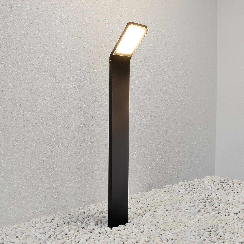 LED Standleuchte 80cm mit Bewegungsmelder Außenleuchte Außenlampe Wandleuchte Edelstahl Wegeleuchte 337 Standlampe Standleuchte Ohne Bewegungsmelder