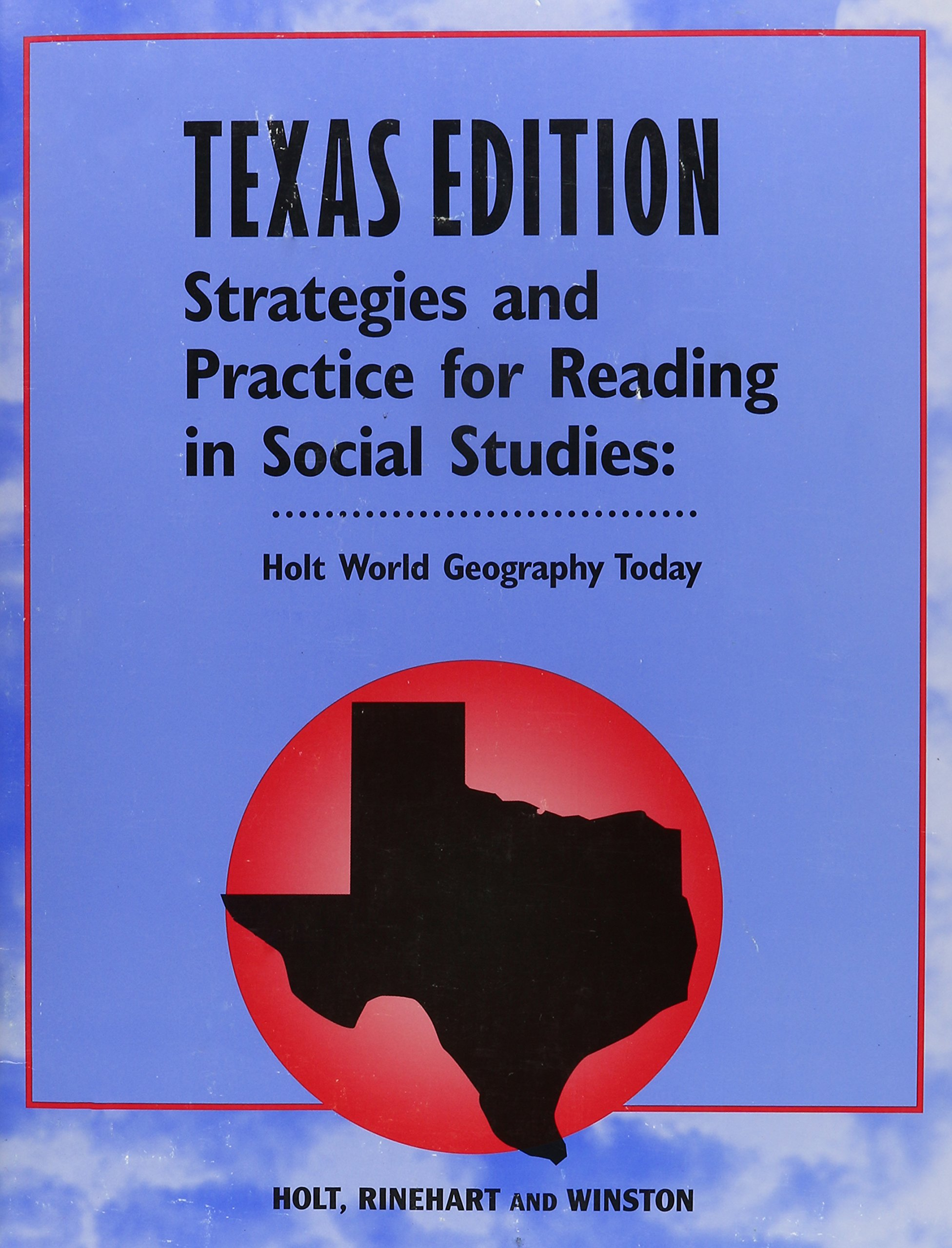 Download Holt World Geography Today Texas: Strategies and Practice Reading Grades 9-12 pdf epub