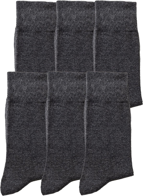 per lavoro e tempo libero senza cuciture 6 o 12 paia Calzini da uomo//donna eleganti in cotone