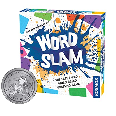 Thames & Kosmos Word Slam Party Game | Family Fun Game Night | Fast-Paced Word-Based Guessing Game | 3 or More Players | Parents' Choice Silver Award Winner | Spiel Des Jahres Recommended: Toys & Games