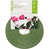 """VELCRO Brand - 75' x 1/2"""" Adjustable Plant Ties For Gardens and Gardening - Green"""