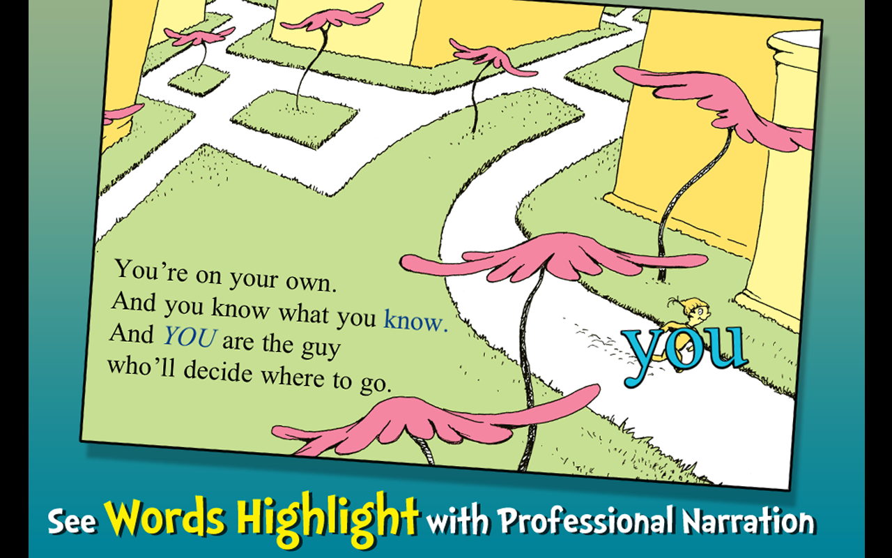 Amazoncom Oh The Places Youll Go Dr Seuss Appstore For Android