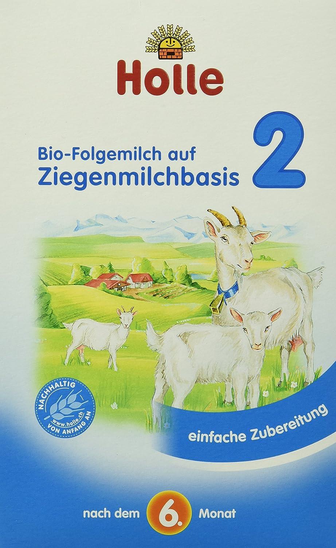 Holle Bio-Folgemilch auf Ziegenmilchbasis 2, 400 g 335828