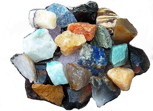 Reiki 3 lbs Wholesale White King Quartz Rough Stones Tumbling Tumbler Rocks