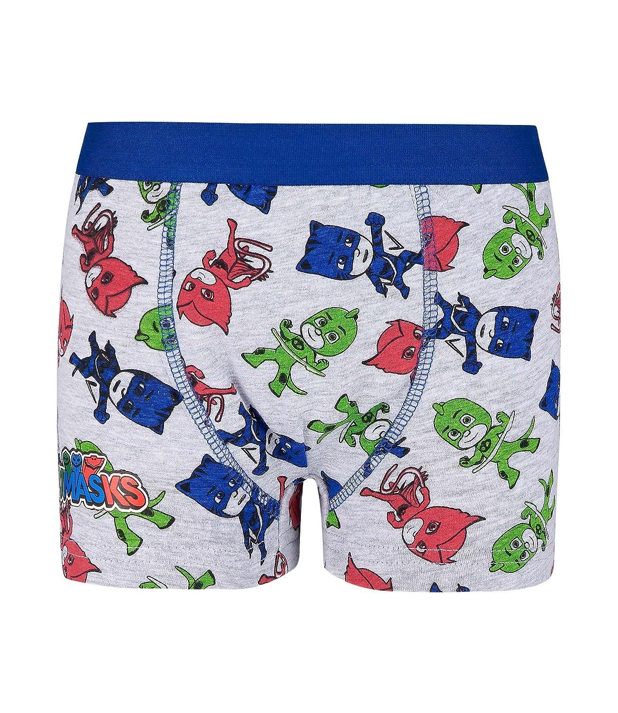 blau Pyjamahelden Jungen 2 er Pack Boxer PJ Masks