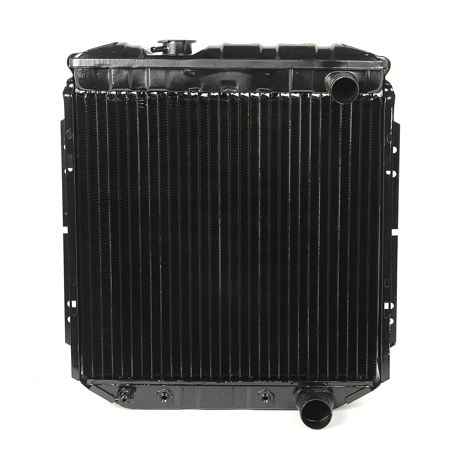 Amazon.com: 1965-1966 Ford Mustang V8 260-289 Radiator 3 Row Large Tube O/e Style NEW: Automotive