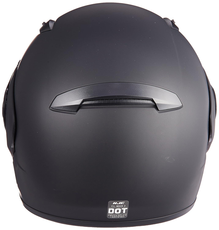HJC CL-MAX2BTSN Modular Bluetooth Snow Helmet Framed Dual Lens Shield Matte Black, X-Small
