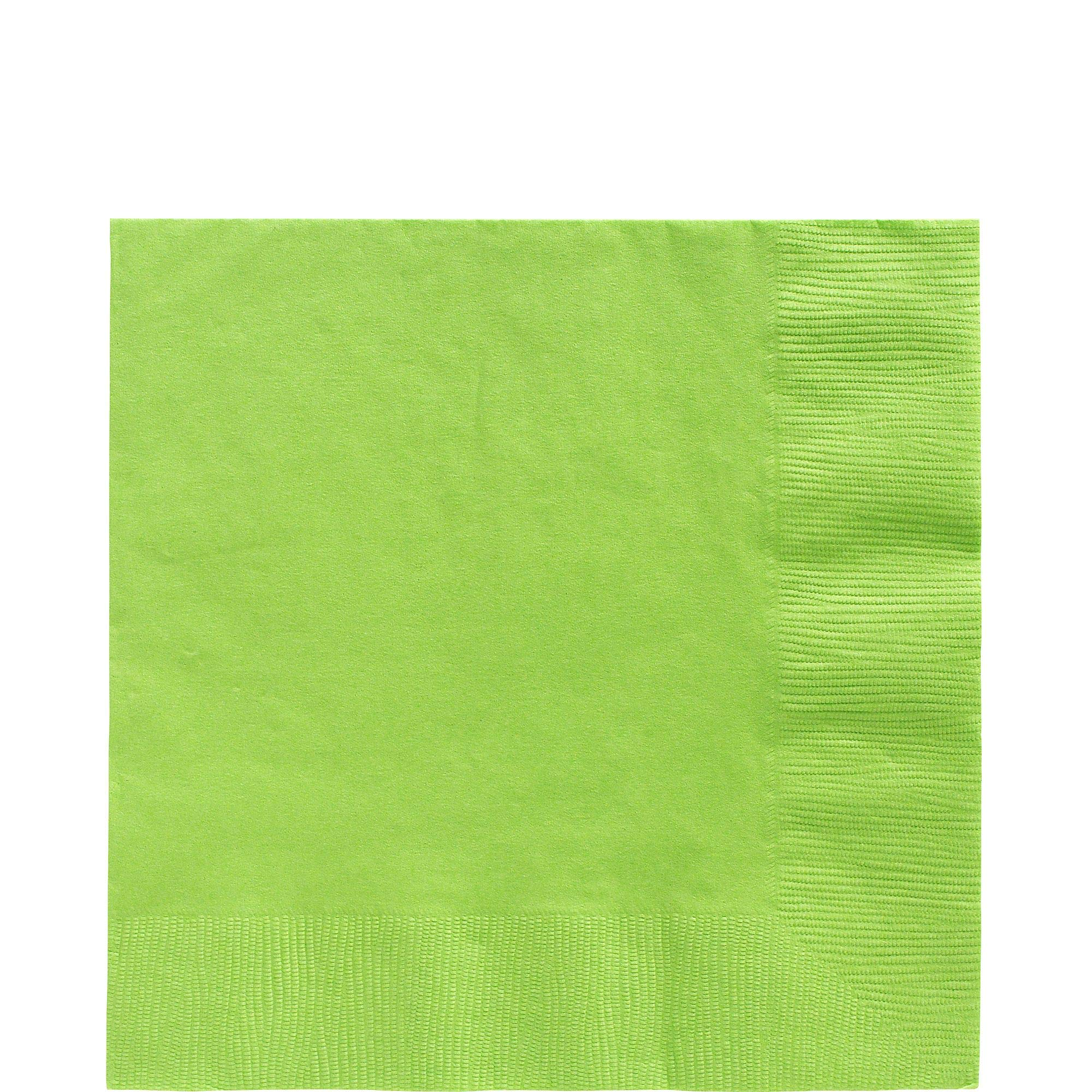 Kiwi Green Luncheon Paper Napkins Big Party Pack, 125 Ct. by amscan