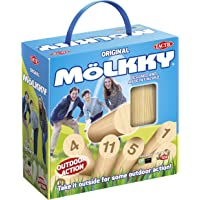 Tactic 2018 Version Molkky Game in Cardboard Box with Handle