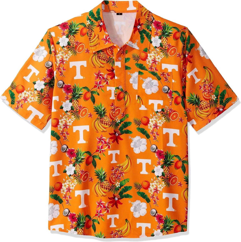 NCAA Mens Fruit Flair Short Sleeve Polo Shirt