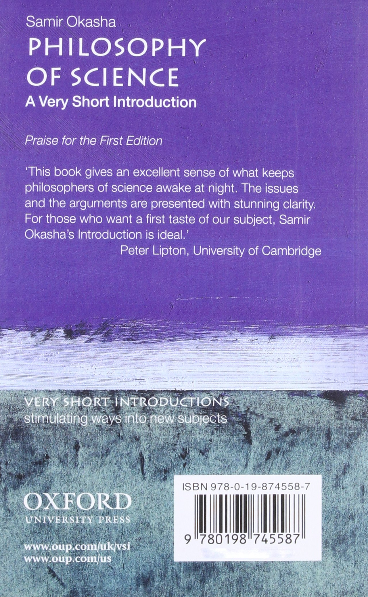 Philosophy of Science: Very Short Introduction Very Short Introductions:  Amazon.de: Samir Okasha: Fremdsprachige Bücher