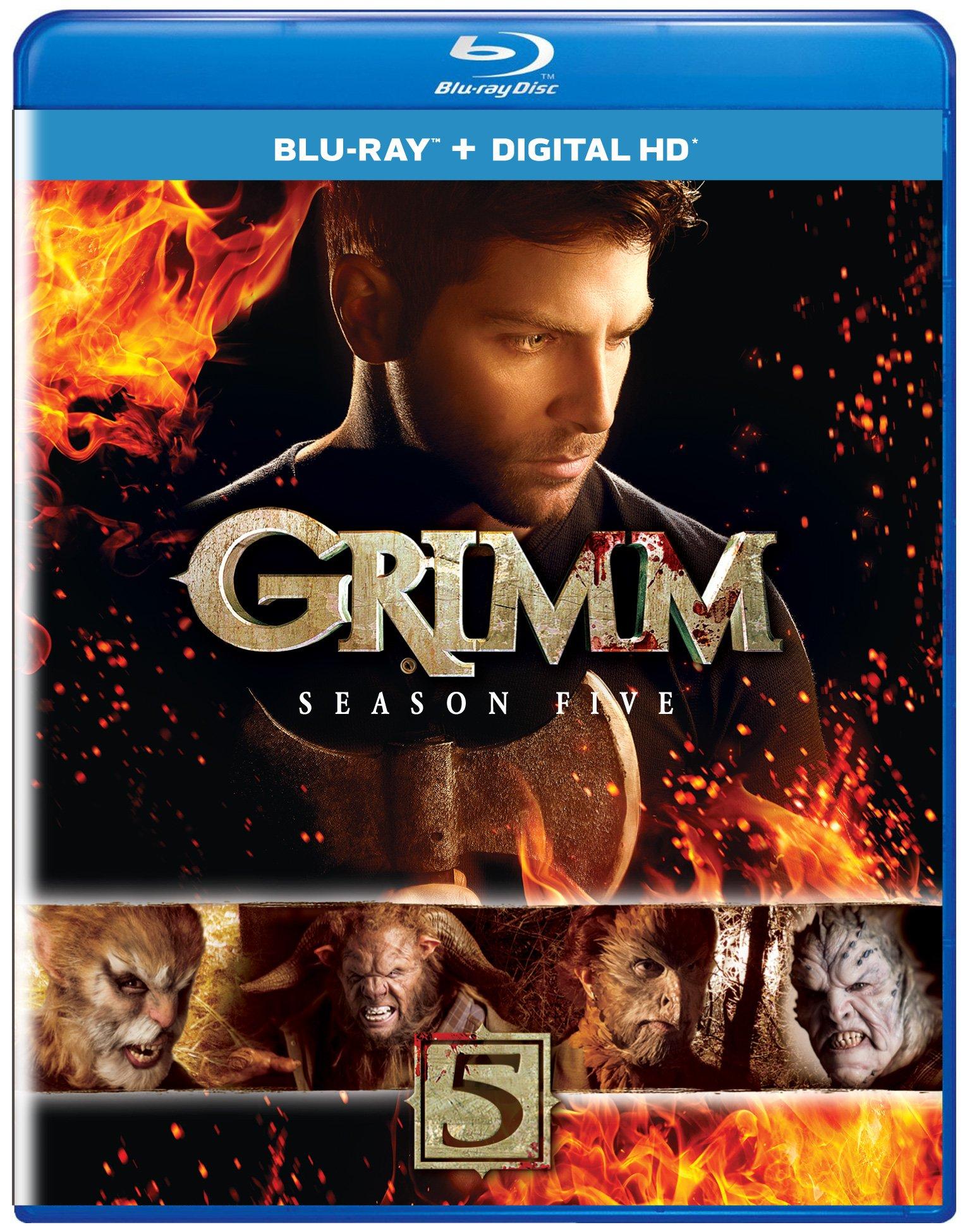 Grimm: Season Five (Blu-Ray + Digital Hd) 4