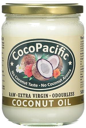 CocoPacific Odourless Virgin Coconut Oil, 500 ml