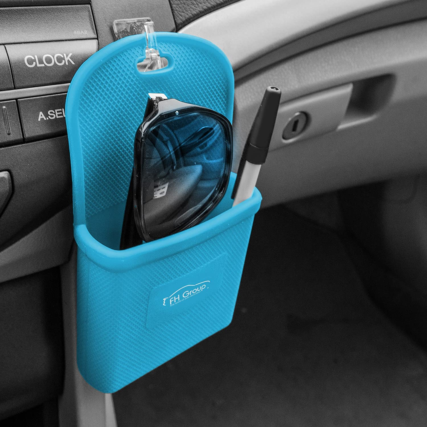 Smartphone works with IPhone Plus Galaxy Note Magenta Color FH Group FH3022MAGENTA Magenta Silicone Car Vent Mounted Phone Holder