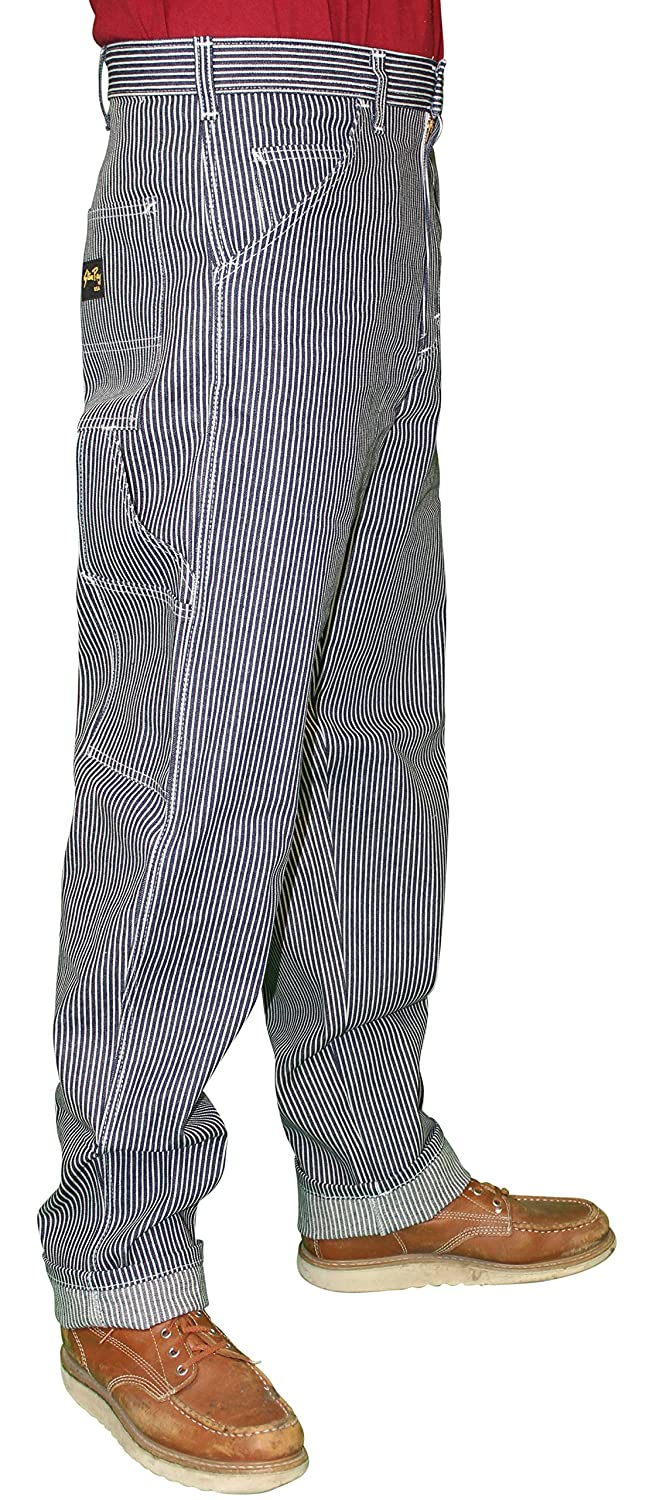 1940s Trousers, Mens Wide Leg Pants Stan Ray Denim Carpenter Painter Style Work Pants Jeans - Made in the USA $65.99 AT vintagedancer.com