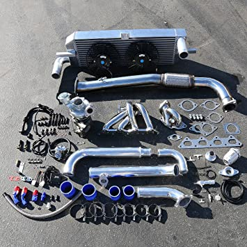 Mitsubishi Eclipse/Eagle Talon 1 G Alto Rendimiento 14pcs TD05 16 G Turbo Upgrade Kit de instalación: Amazon.es: Coche y moto