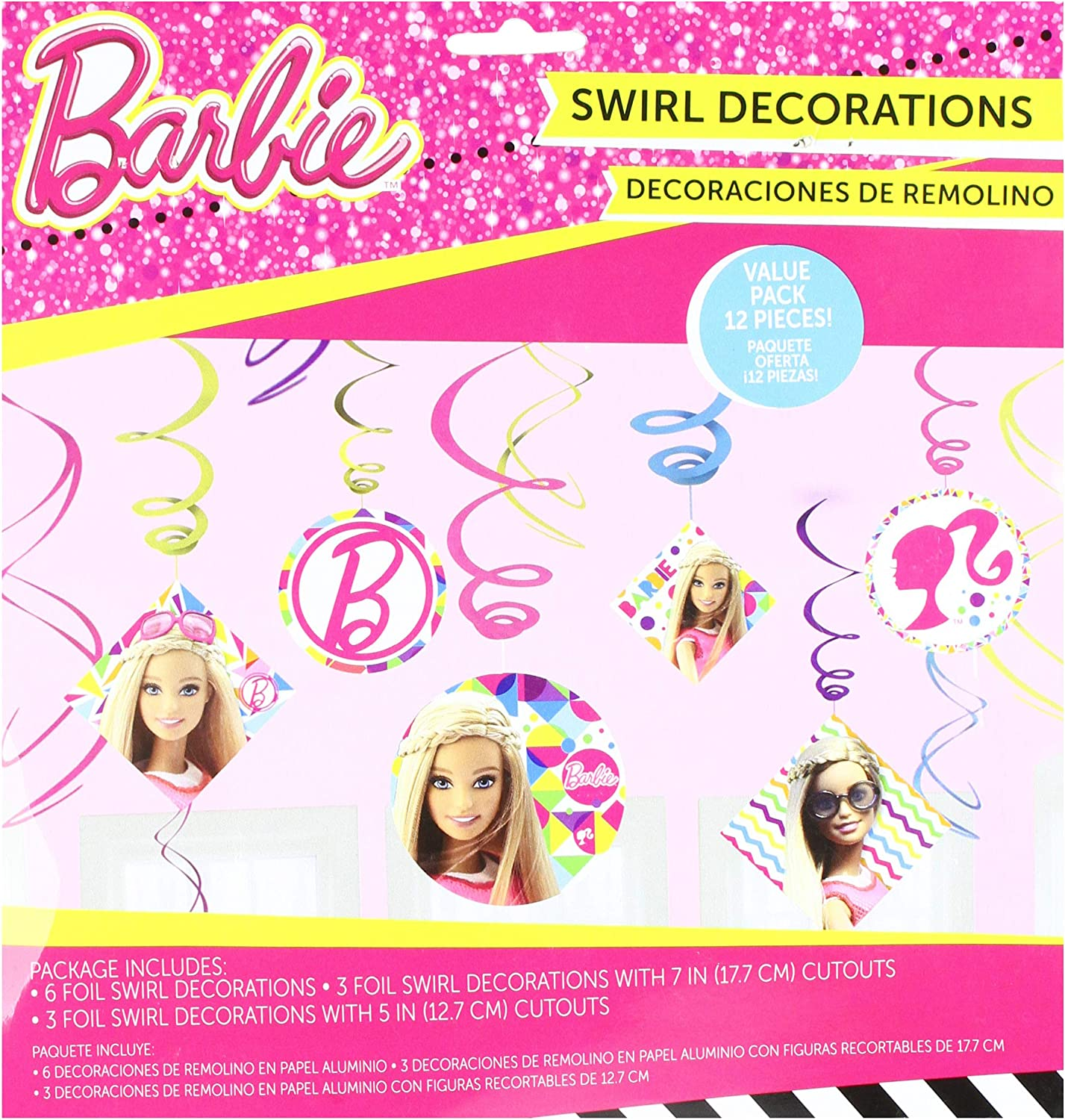 Party Accessory Postcard Invitations Barbie Sparkle Collection