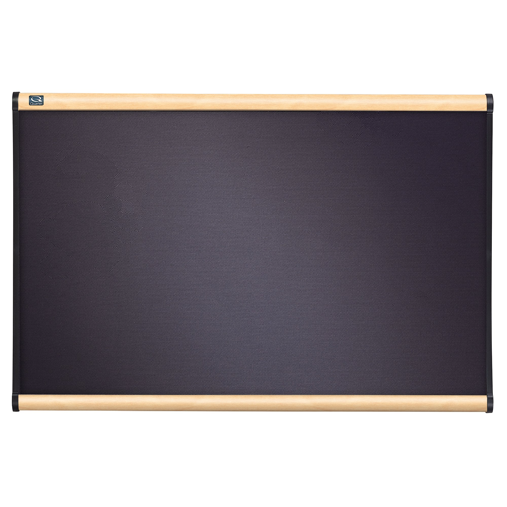 Quartet B444MA Quartet Prestige Bulletin Board, Diamond Mesh Fabric, 48 x 36, GY/Maple Frame
