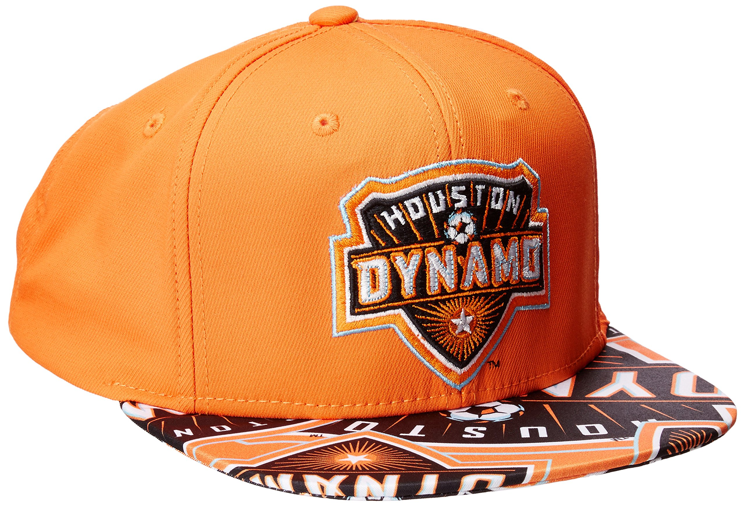 7b7c87272869e MLS Houston Dynamo Adult Men MLS SP17 Fan Wear Script Logo Flat Brim  Snapback