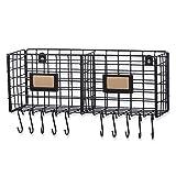 WALL35 Foyer Organizer Wire Rack Wall Mountable