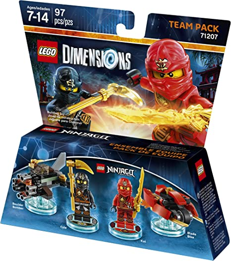 LEGO Dimensions, Ninjago Team Pack by Warner Home Video - Games ...