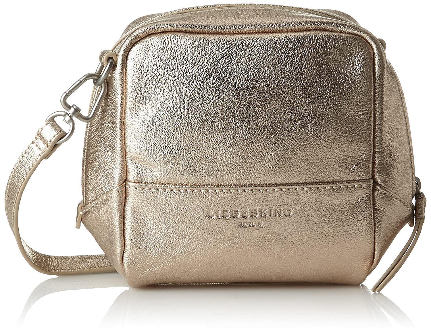 Broadwayf8 Hiddem, Cross-Body Bag, Womens Gold (Moonlight), 7x20x15 cm (B x H x T) Liebeskind
