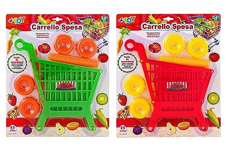 WTOY Carro Compra, Color Rojo (Globo 37965)