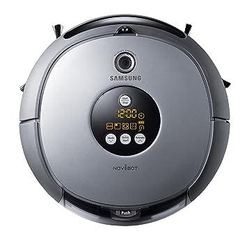 Samsung SR8846 NaviBot - Robot de limpieza (filtro HEPA 11), color plateado
