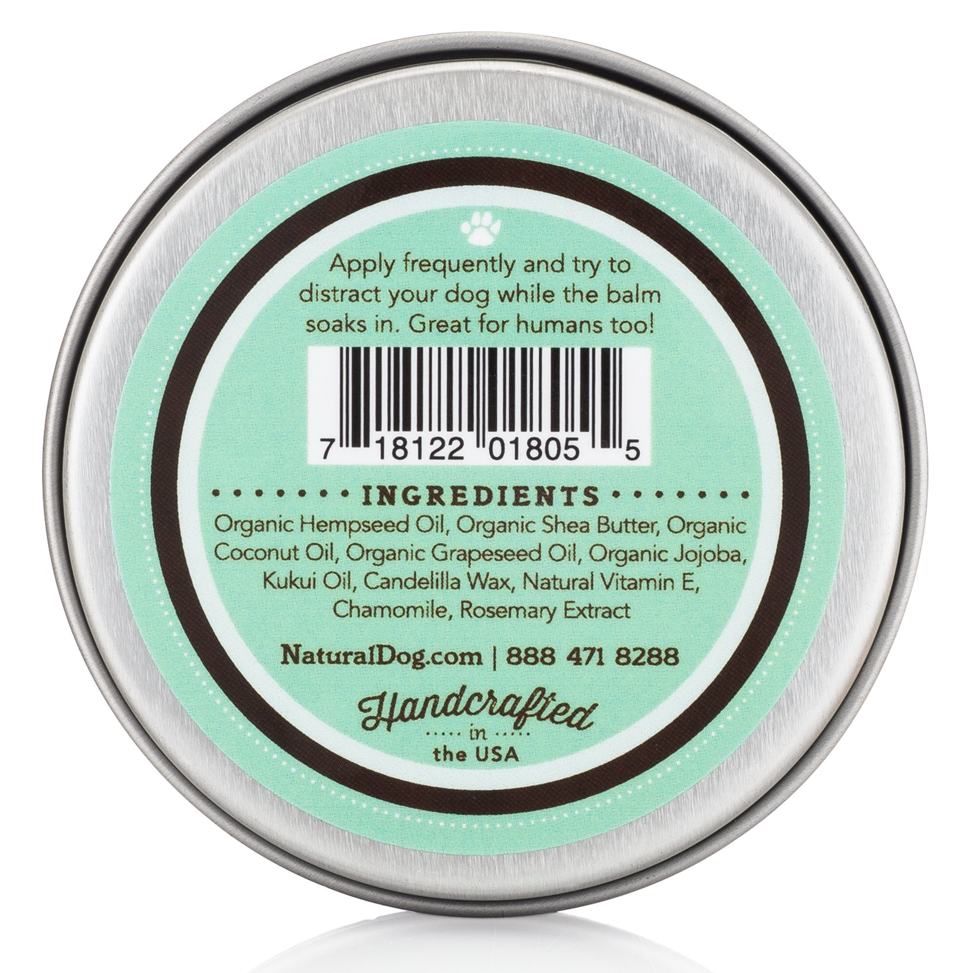 NaturalDog.com SNOUT SOOTHER | Heals Dry, Chapped, Cracked, and Crusty Dog Noses | 2oz Tin + 0.15oz Stick by NaturalDog.com (Image #2)