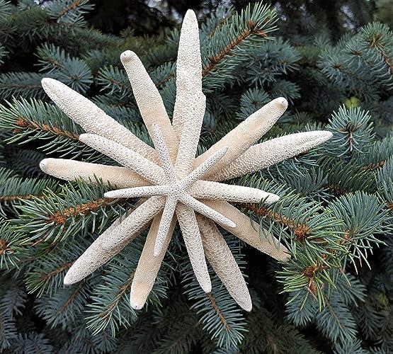 Nautical Starfish Christmas Tree Topper Beach Coastal Decor Nautical Star Fish Tree Topper 7