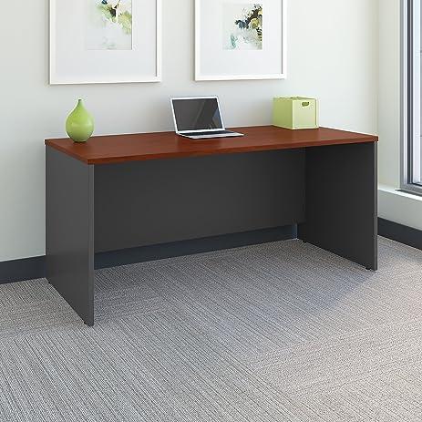 Series C 66W X 30D Office Desk In Hansen Cherry
