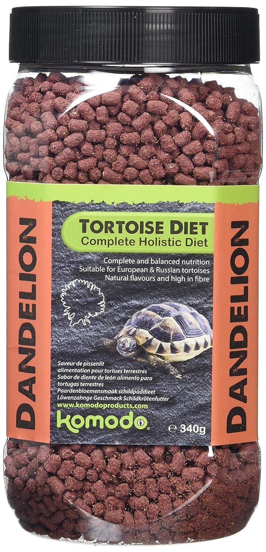 Komodo Complete Holistic Tortoise Diet Dandelion 170 g (Pack of 2) Happy Pet U45311
