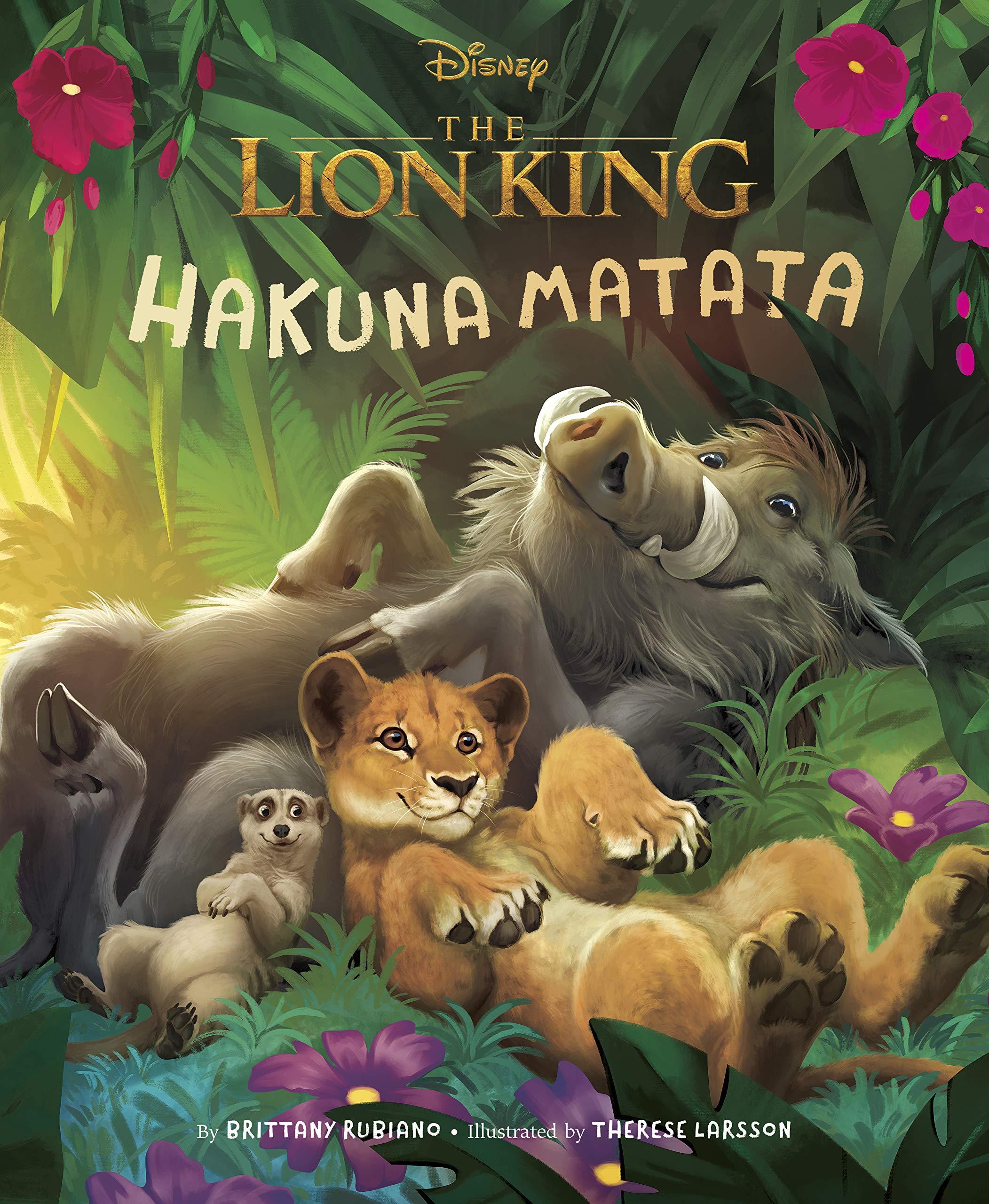 Lion King  2019  Picture Book The  Hakuna Matata