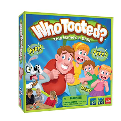 Amazon Com Goliath Games Who Tooted The Um Fart Board Game For