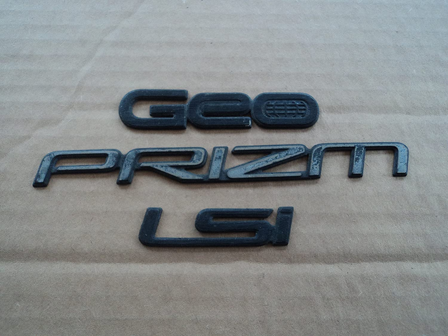 Amazon com: 93-97 Chevy Prizm LSI Trunk Used Emblem OEM Boot