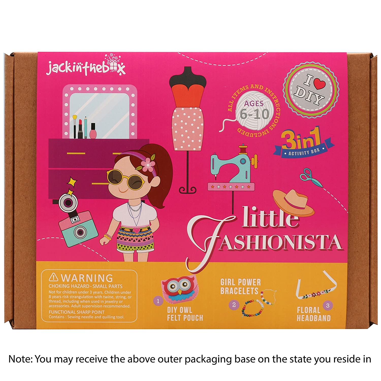 Jackinthebox Art And Craft Kit For Girls